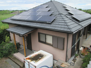 太陽光発電で、人と環境にやさしい家づくりをしたいです。